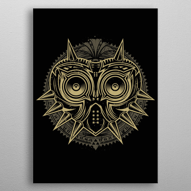 This marvelous metal poster designed by studiom6 to add authenticity to your place. Display your passion to the whole world. metal poster
