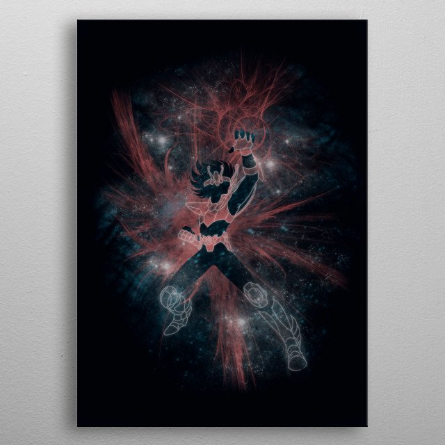 Fascinating metal poster designed by SKULLPY. Displate has a unique signature and hologram on the back to add authenticity to each design. metal poster