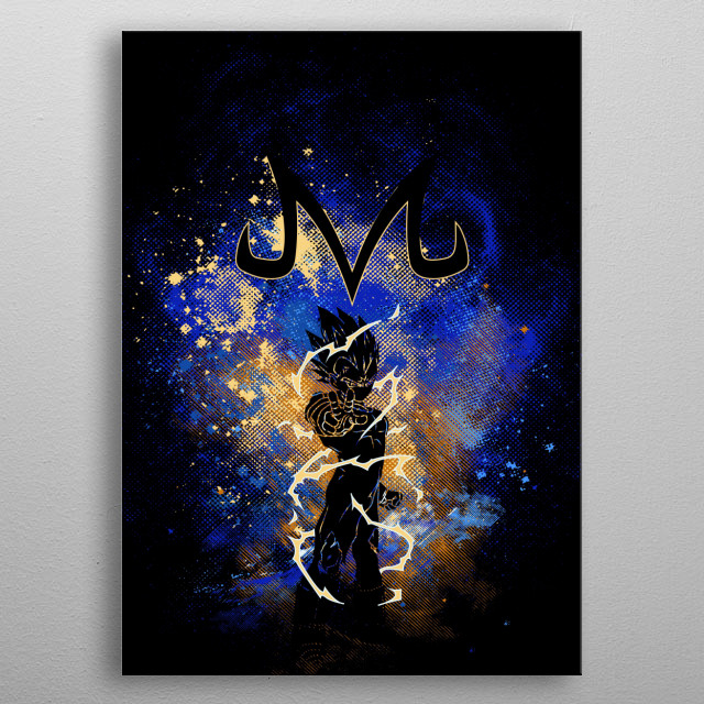 Majin Art metal poster