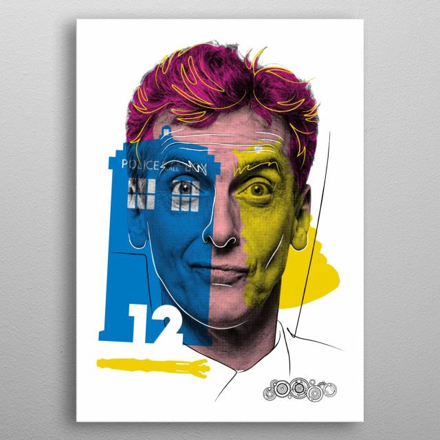 Doctor Warwhol 12 metal poster