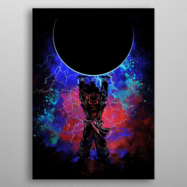 Genkidama Art metal poster