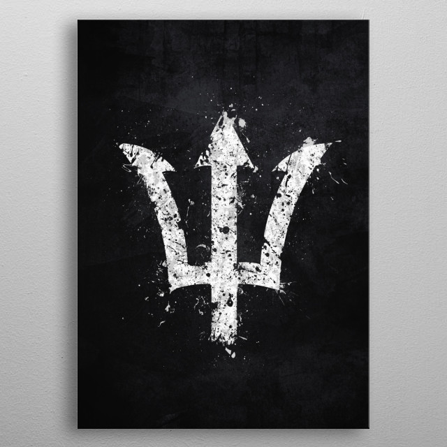 Percy Jackson metal poster