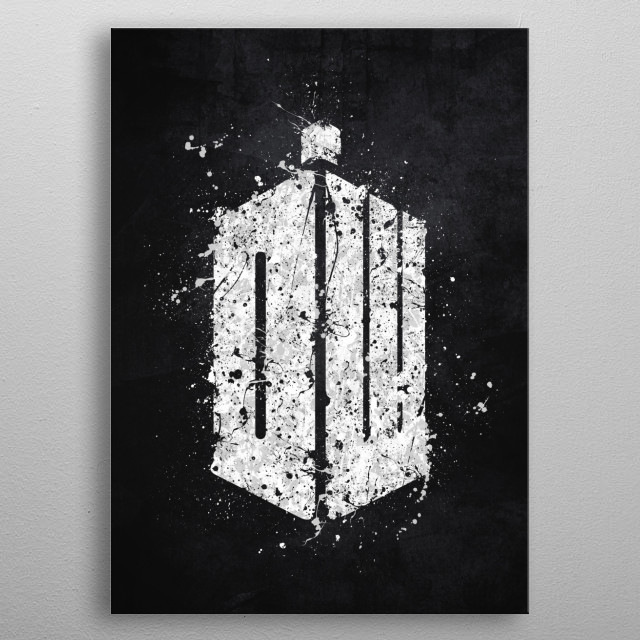 Dr. Who metal poster