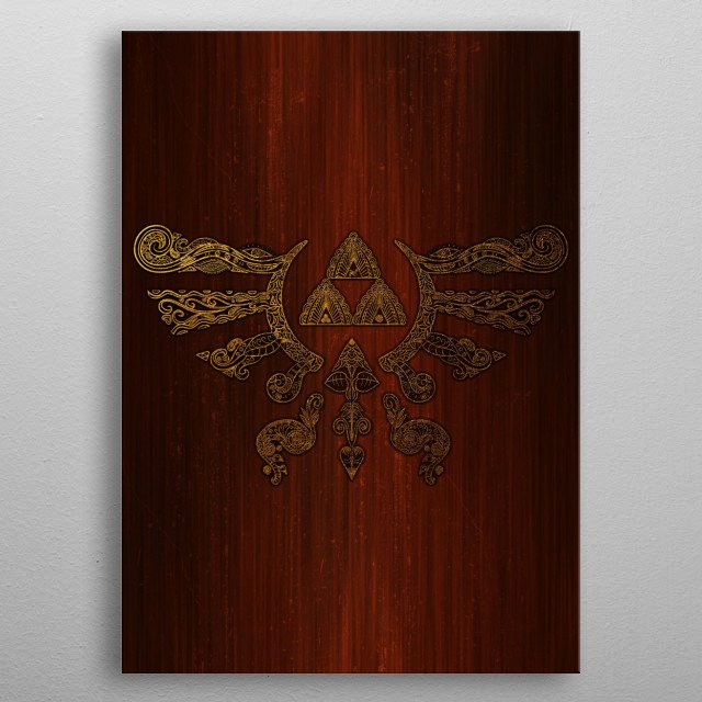 Fascinating  metal poster designed with love by legendaryphoenix. Decorate your space with this design & find daily inspiration in it. metal poster