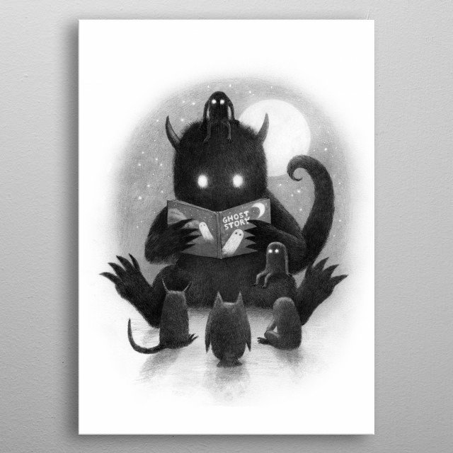 Story Time metal poster