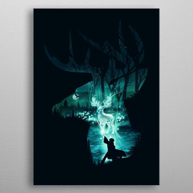 Spirit Animal metal poster