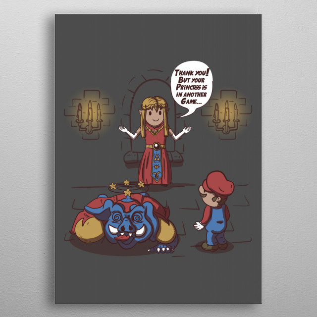 High-quality metal print from amazing Video Games collection will bring unique style to your space and will show off your personality. metal poster