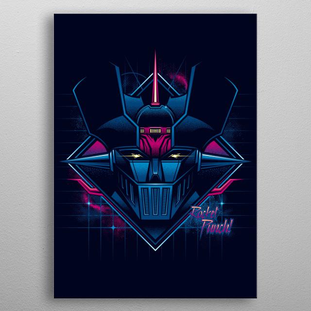 Rocket Punch... V2 metal poster