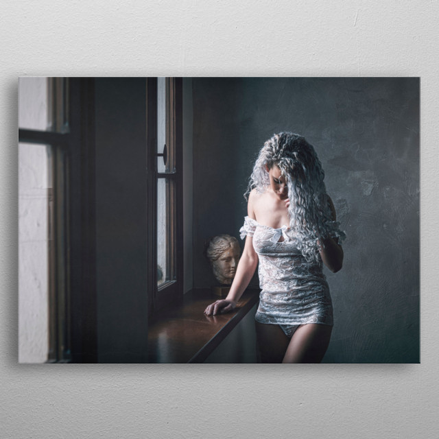 High-quality metal print from amazing People collection will bring unique style to your space and will show off your personality. metal poster