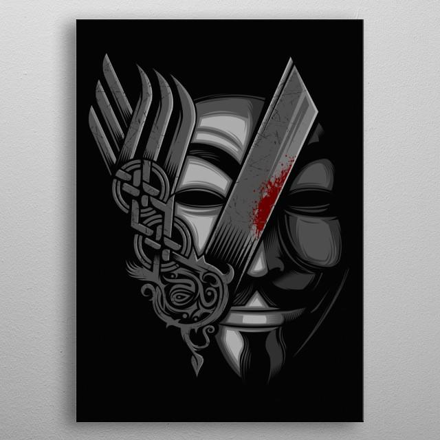 V for reVenge... metal poster