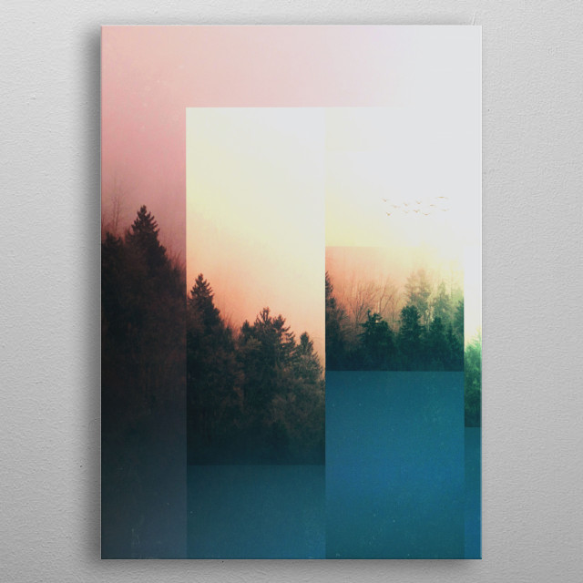 Fractions A70 metal poster