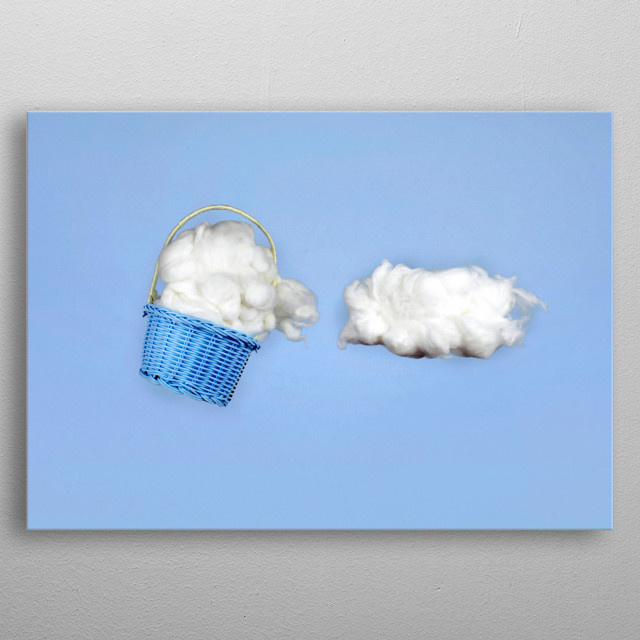 The cloud harvester metal poster