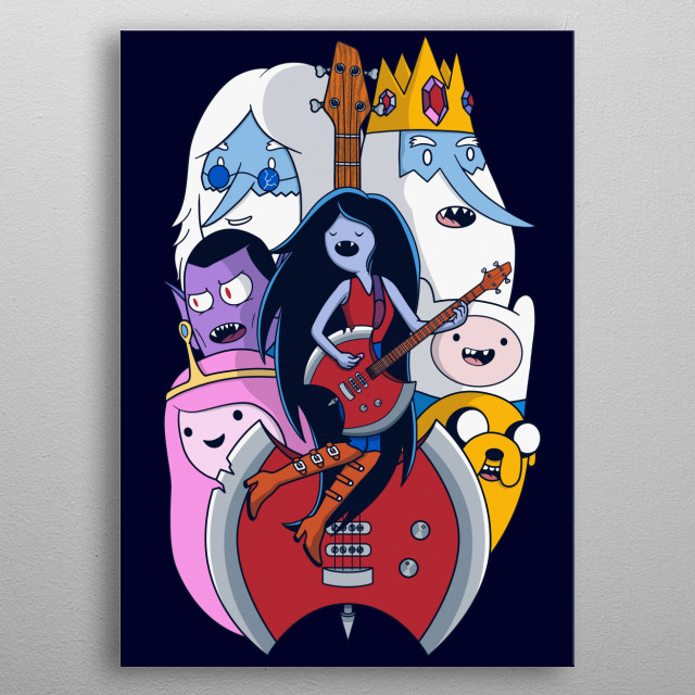 Everything stay metal poster