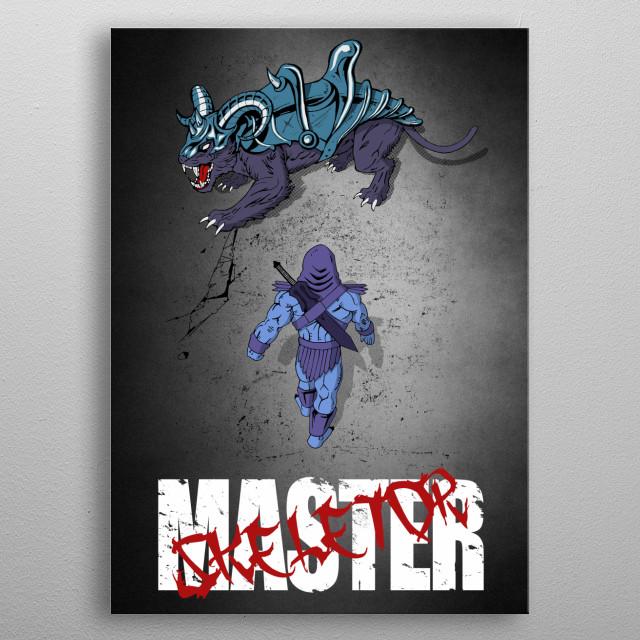 The Antagonist metal poster