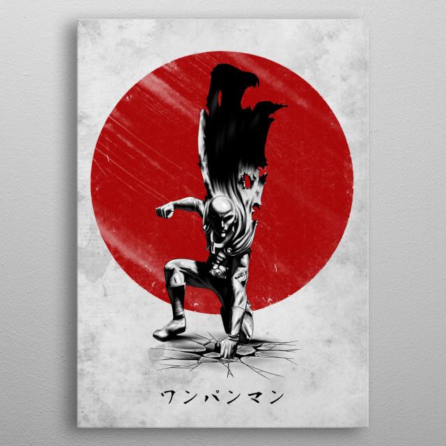 Strongest Hero metal poster