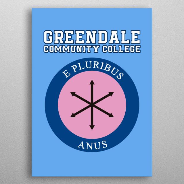 E pluribus anus metal poster