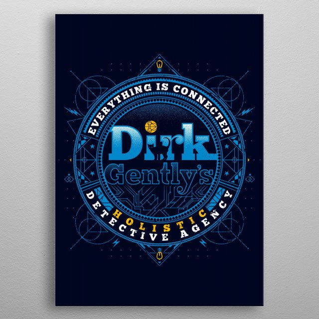 High-quality metal print from amazing Series And Movies collection will bring unique style to your space and will show off your personality. metal poster