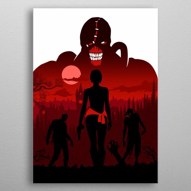 Zombie metal poster
