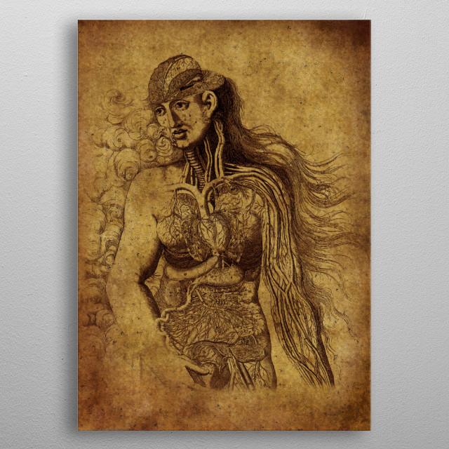 Anatomic37 metal poster