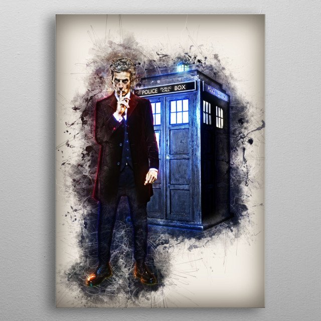 Doctor Who metal poster