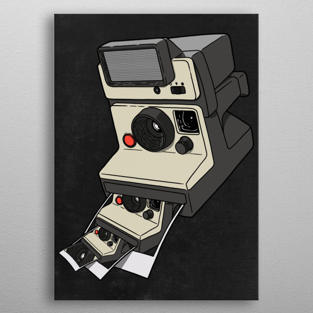 Cam-ception metal poster