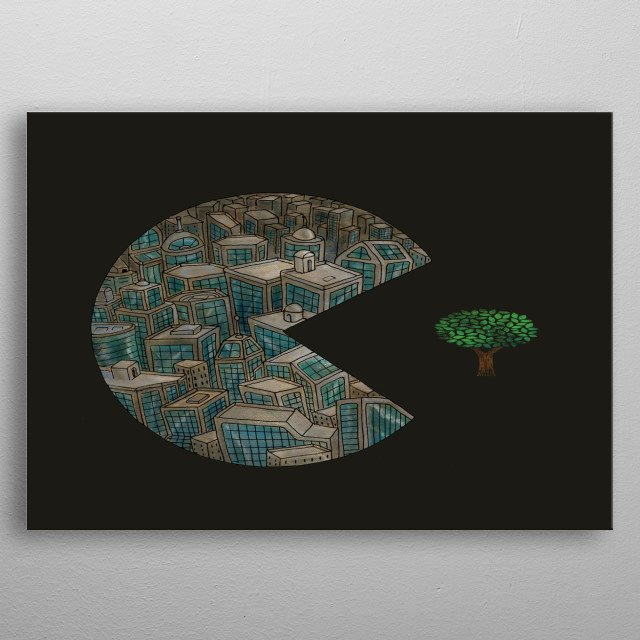 High-quality metal print from amazing Minimalist Art collection will bring unique style to your space and will show off your personality. metal poster