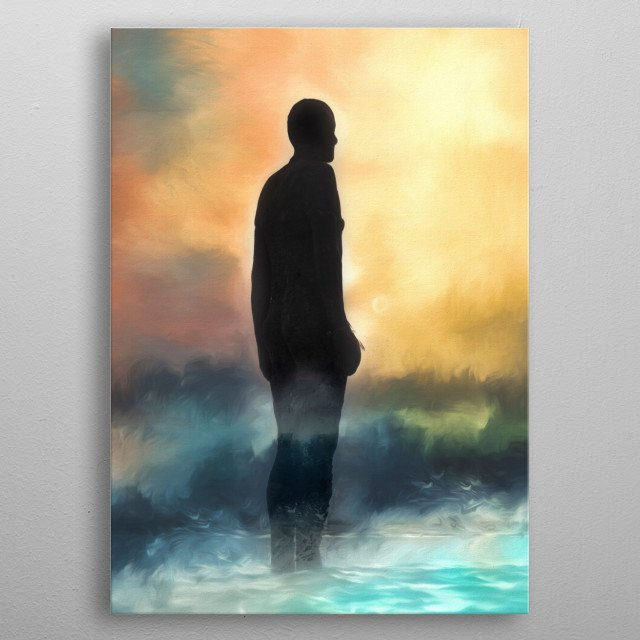 Weathering the storm.     metal poster