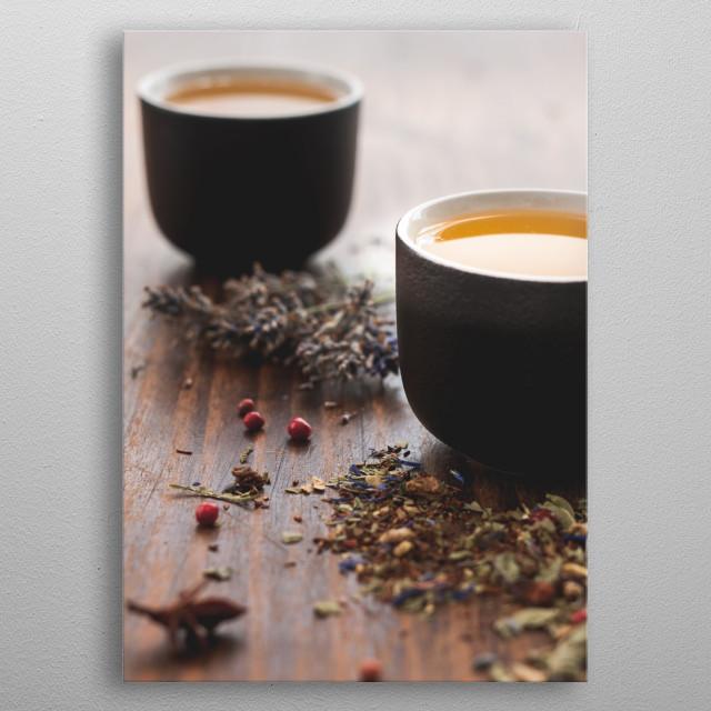 Tea metal poster