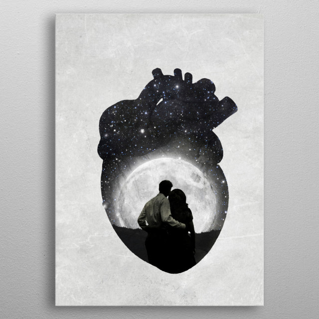 Fascinating metal poster designed by Paula  Belle Flores. Displate has a unique signature and hologram on the back to add authenticity to each design. metal poster