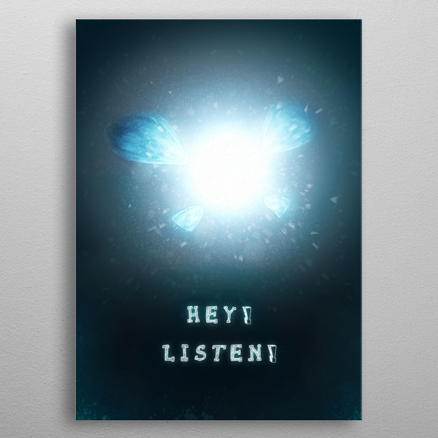 Navi · Made with Autodesk Maya and Photoshop metal poster
