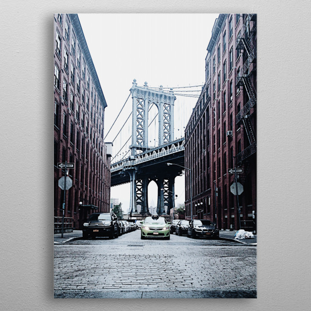 High-quality metal print from amazing Nyc collection will bring unique style to your space and will show off your personality. metal poster