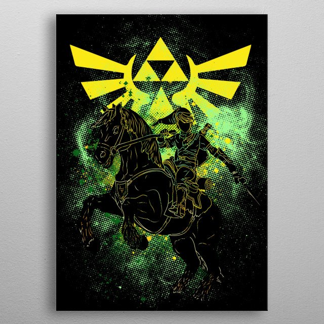 Legend metal poster
