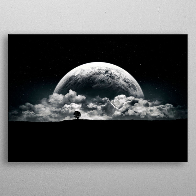 The Rise of a Planet metal poster