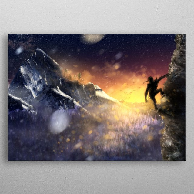 This marvelous metal poster designed by alexxdx to add authenticity to your place. Display your passion to the whole world. metal poster