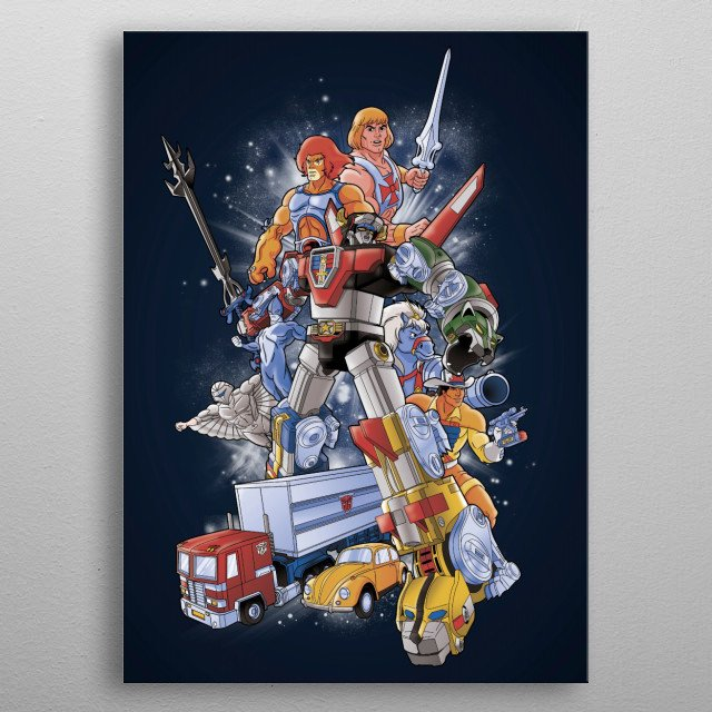 High-quality metal print from amazing Tv Shows collection will bring unique style to your space and will show off your personality. metal poster