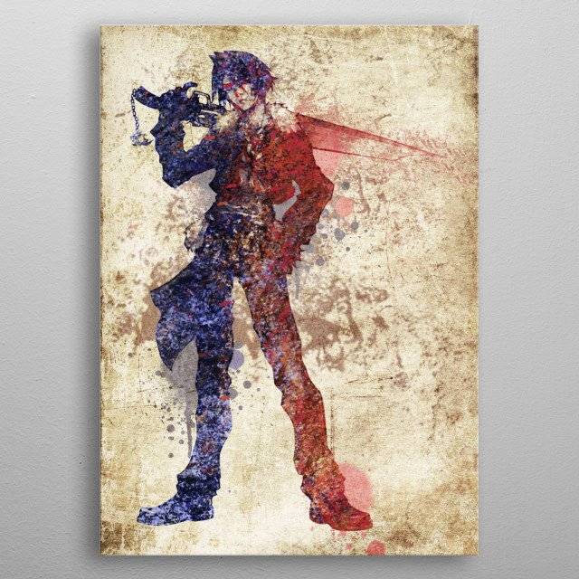 This marvelous metal poster designed by apocalypticaboy to add authenticity to your place. Display your passion to the whole world. metal poster