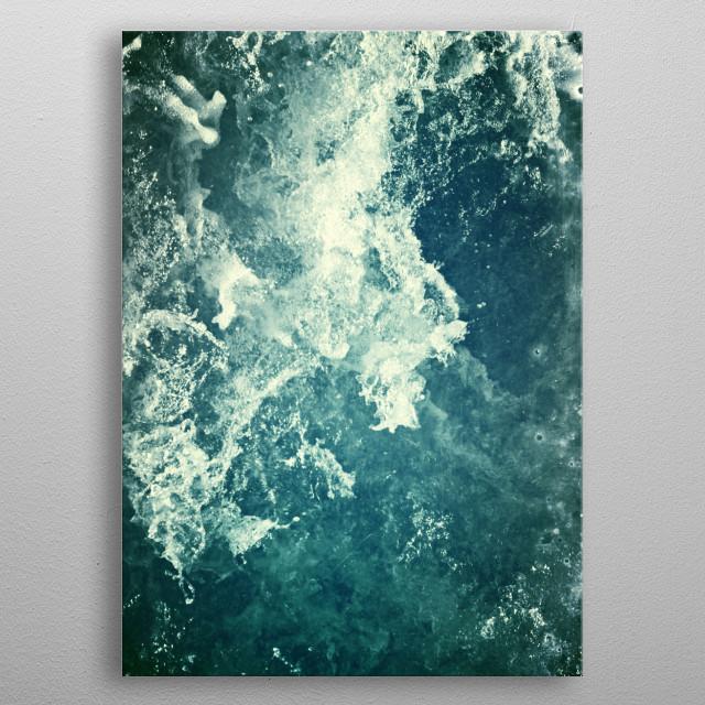 Water III metal poster