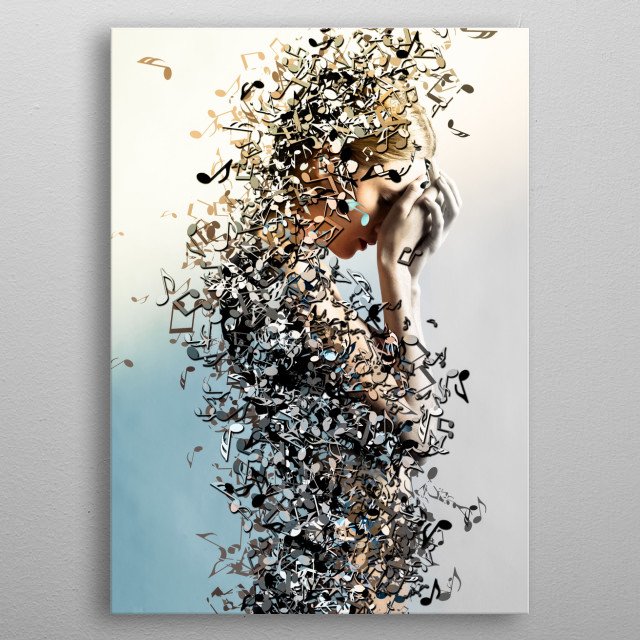 """"""" All I Have Left is Gravity """"  metal poster"""