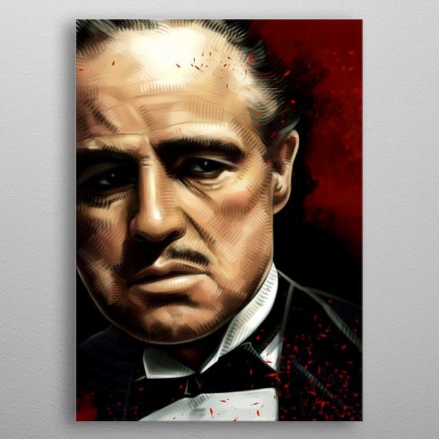 Corleone  metal poster