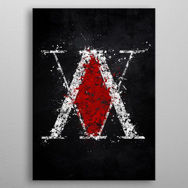 Hunter X Hunter metal poster