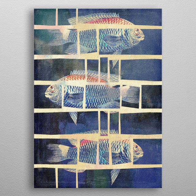 High-quality metal print from amazing Displays By Fernando Vieira collection will bring unique style to your space and will show off your personality. metal poster