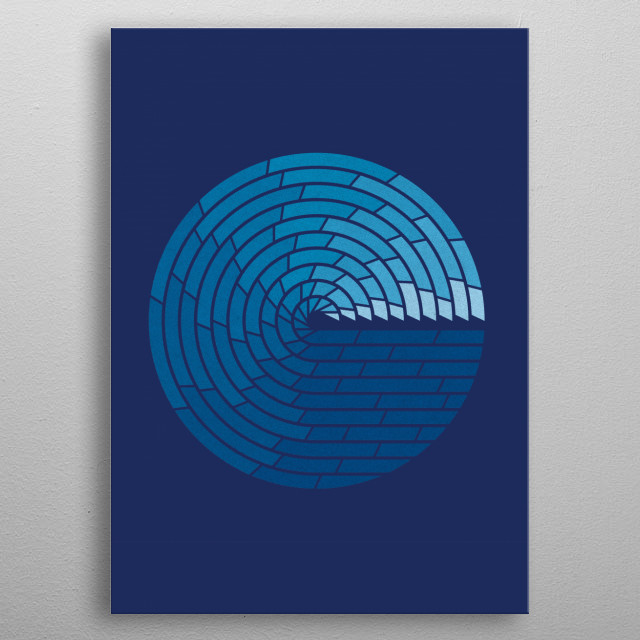 ALMIGHTY OCEAN - I have the utmost respect for the ocean. Vast and powerful, serene and unforgiving, nurturing and destroying relentlessly ov... metal poster