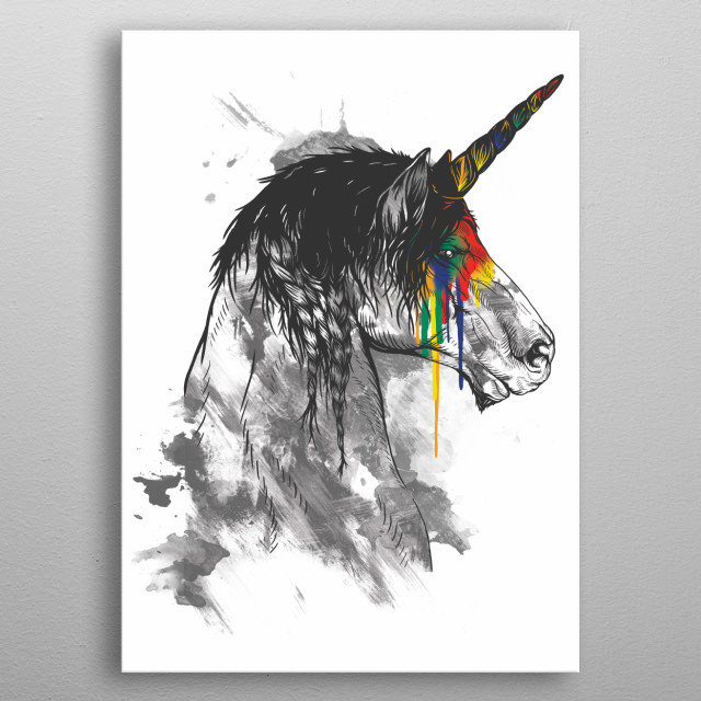 High-quality metal wall art meticulously designed by mitchdosdos would bring extraordinary style to your room. Hang it & enjoy. metal poster