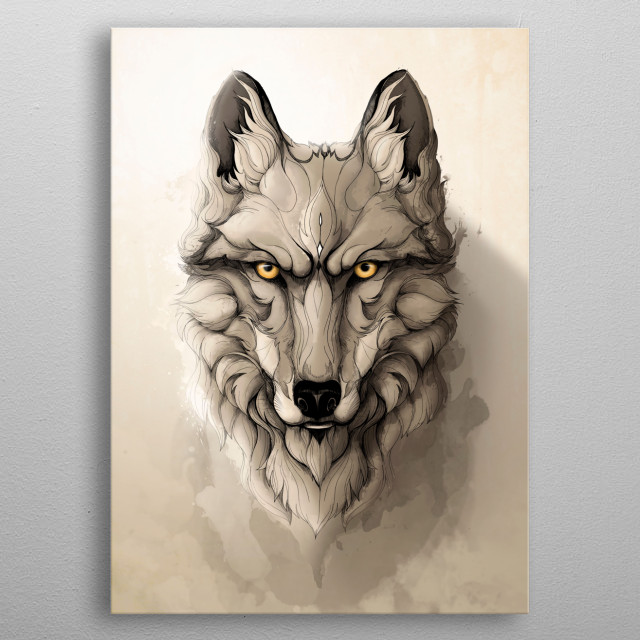 Wild Animals! metal poster