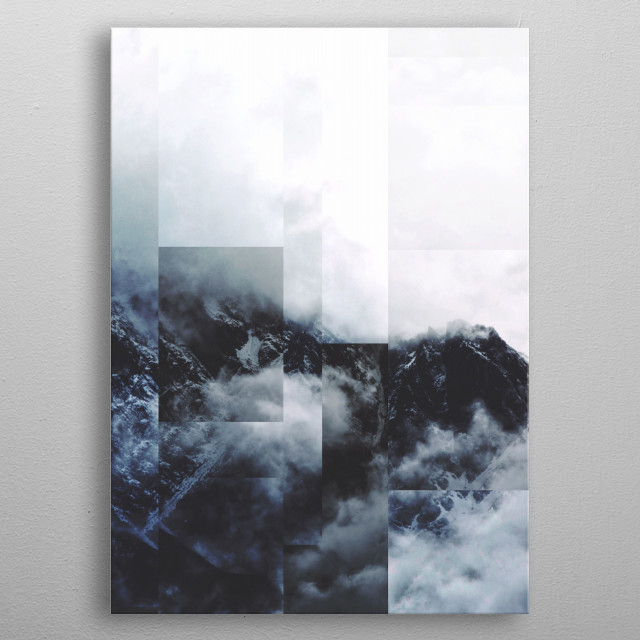 Fractions A81 metal poster