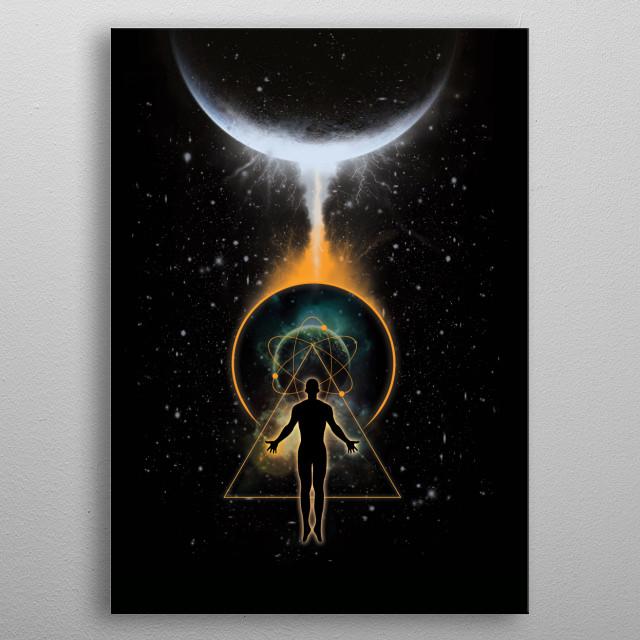 Transcend metal poster