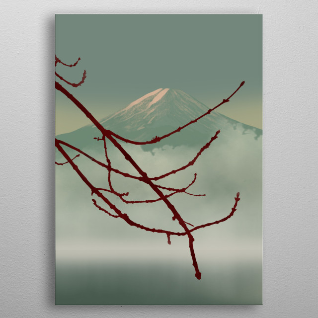 High-quality metal print from amazing Asian Inspiration collection will bring unique style to your space and will show off your personality. metal poster