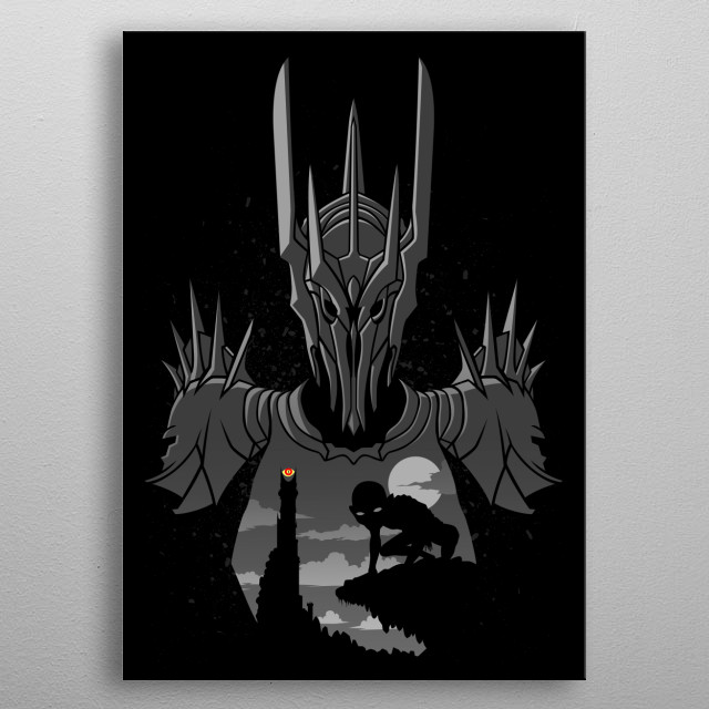 High-quality metal print from amazing Double Exposure collection will bring unique style to your space and will show off your personality. metal poster