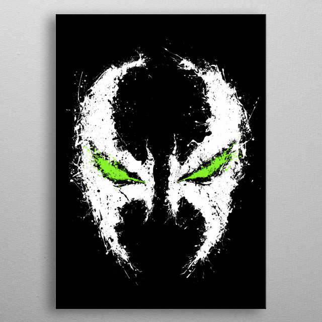 For Spawn fans metal poster