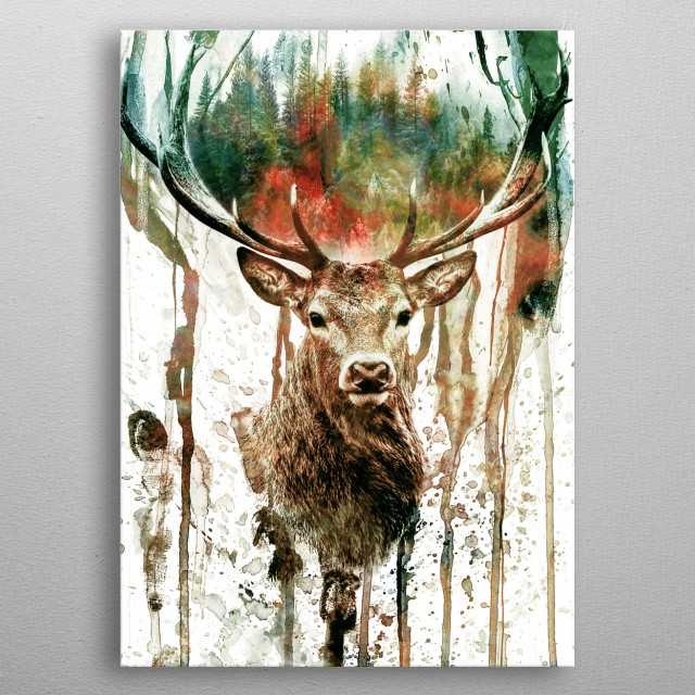 High-quality metal wall art meticulously designed by rizapeker would bring extraordinary style to your room. Hang it & enjoy. metal poster